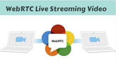 انتشار ویدیوی زنده با WebRTC